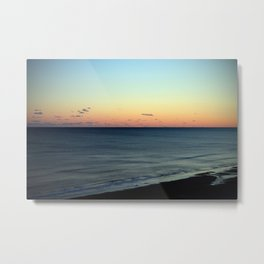 Sunset over the Ocean Metal Print