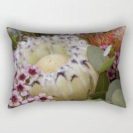 Beautiful Feather Protea Rectangular Pillow