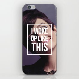 AUDREY HEPBURN | I Woke Up Like This iPhone Skin