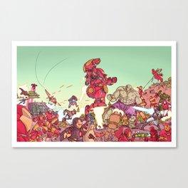 robot man Canvas Print