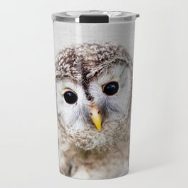 Baby Owl - Colorful Travel Mug