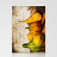 vegetable Stationery Cards featuring Vegetable II  by Angela Dölling, AD DESIGN Photo + Photo