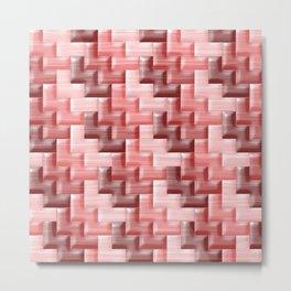 Geometrix XXXIII Metal Print