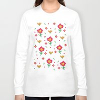 pixel Long Sleeve T-shirts featuring Pixel by Kakel