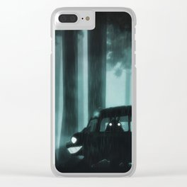 catbus in limbo Clear iPhone Case
