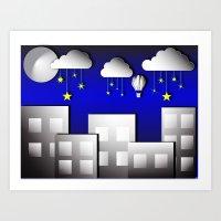 Sleep tight kiddo Art Print