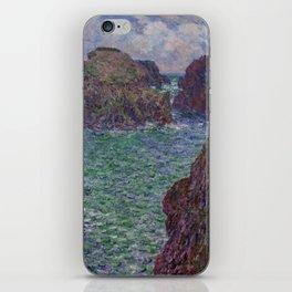Port-Goulphar, Belle-Île iPhone Skin