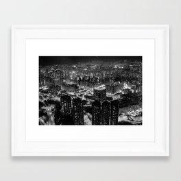 Hongkong Framed Art Print