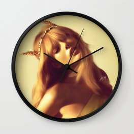 Goddess (Frida Gustavsson) Wall Clock