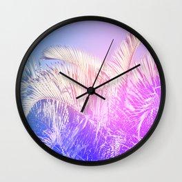 Shade & Palmtree Wall Clock