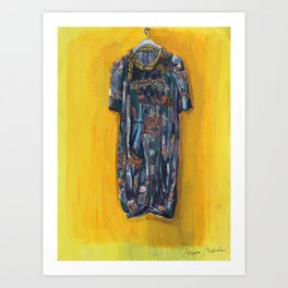 Poet's Dress Art Print