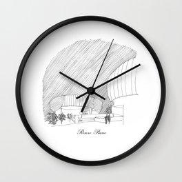 Renzo Piano Wall Clock