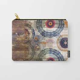 AMASONDO PATCHWORK PATTERN ART Carry-All Pouch