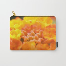 Yellow/Orange Flower Burst - Lantana #1 #art #society6 Carry-All Pouch