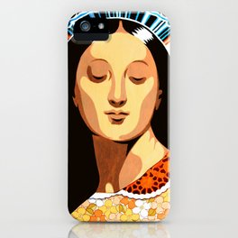 Santa Pagana iPhone Case