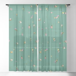 Frida Floral Sheer Curtain