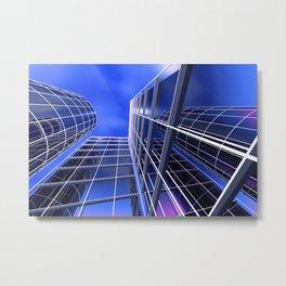 citylines -2- Metal Print