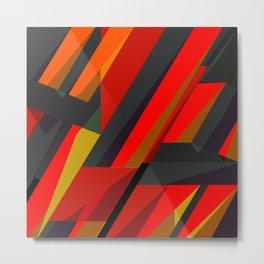 Spike Abstract art Metal Print