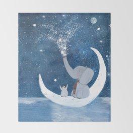 shooting stars Throw Blanket