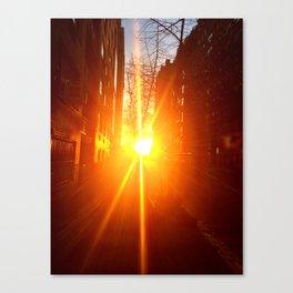 sunrise on the eastside Canvas Print