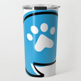Animal Rescue Talk Logo Travel Mug