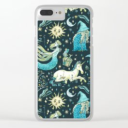 Good old fairy tale Clear iPhone Case