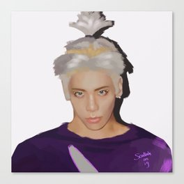 Jonghyun Married To The Music Canvas Print