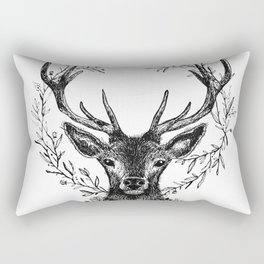 Royal stag Rectangular Pillow