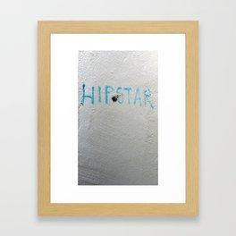 Lost in Translation (Hipstar) Framed Art Print