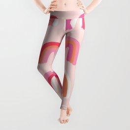 Rainbow Paint Rolls – Pink Leggings