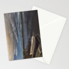 Calm Night Stationery Cards