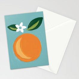 Navel Orange Stationery Cards