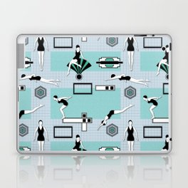 Art Deco Swimmers Laptop & iPad Skin