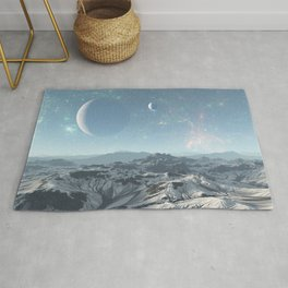 Cold Mountain in Deep Space Rug