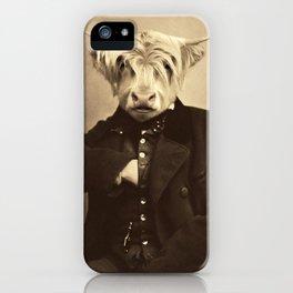 Lulach McCleod iPhone Case