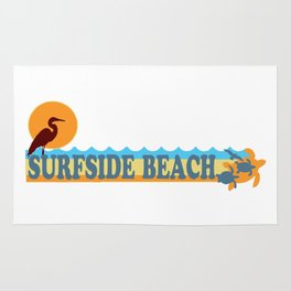 Surfside Beach - South Carolina. Rug