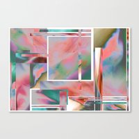 glitch Canvas Prints featuring Glitch by autumndellaway