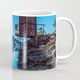 Wilderness Pooper // Crater Lake National Park Beauty of the Blue Skies and Waters Coffee Mug