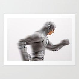 The Flash: White Lantern Art Print