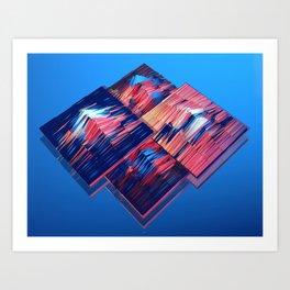 Transitions XXXV - Parallels Art Print