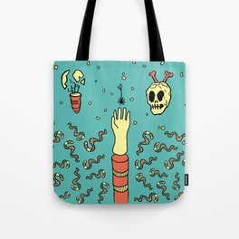 nowhere fast Tote Bag