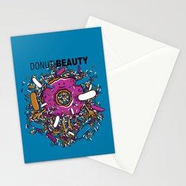 Donut Beauty Stationery Cards