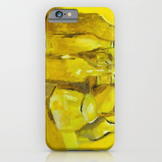 Still Life Study in Yellow iPhone & iPod Case