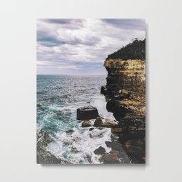 Off The Cliff Metal Print