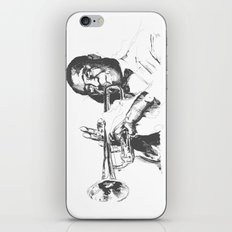 Louis Armstrong, Satchmo or Pops iPhone Skin