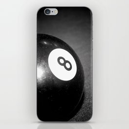 Eight Ball-Black iPhone Skin