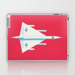 B-58 Hustler Supersonic Supersonic Jet - Crimson Laptop & iPad Skin