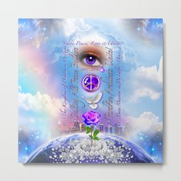 The Kingdom of Heaven is Within Metal Print