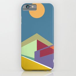 Living in the City Serie - Equilibrium iPhone Case