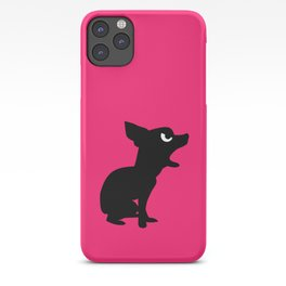 Angry Animals: Chihuahua iPhone Case